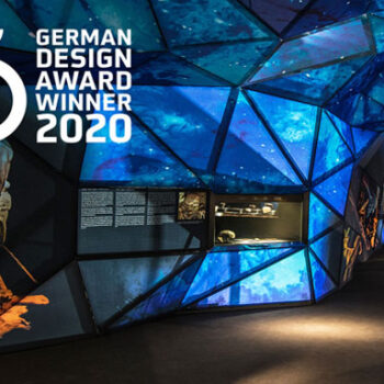 Exposición Rupestre: premio German Design Awards 2020